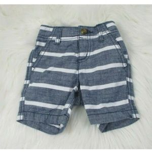 Crazy 8 Boys Shorts 6-12 Months Stripes